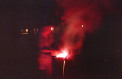 (jonesrachel920) Tags: july 4th 35mm negative scan film phelps ny sparkler smoke