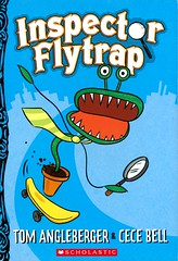 Inspector Flytrap (Vernon Barford School Library) Tags: 9781338117073 tomangleberger tom angleberger cecebell cece bell animals animal mysteryfiction mystery mysteries goat goats venusflytrap plan plants farmanimals humor humour humorous vernon barford library libraries new recent book books read reading reads junior high middle vernonbarford fiction fictional novel novels paperback paperbacks softcover softcovers covers cover bookcover bookcovers readinglevel grade2 rl2 quick quickread quickreads qr graphic graphicnovel graphicnovels