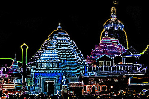 India - Odisha - Puri - Jagannath Temple - 59b