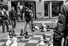 Chess player in Amsterdam... (fnoothout) Tags: chess amsterdam blackwhite blackandwhite men streetphotography street nikond7100 nikon 35mm18