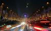 Les Champs-Elysées....au milieu des voitures ! (mamnic47 - Over 6 millions views.Thks!) Tags: champselysées illuminations 30122016 paris paris8e lumières effetsdelumières img8237 granderoue flare voitures phares feuxarrières paris16éme
