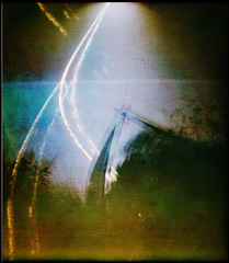 Ground vibration (batuda) Tags: pinhole obsura stenope lochkamera analog analogue can beercan paper kodak polymax 14x16 mediumformat color undeveloped unfixed solargraphy solarigraphy solargraph solarigrafia sun track arch solar solarpath landscape ground underground grass tree trees sky electric pole wide wideangle lowangle epson 4490photo inknai tauragnai utena lithuania lietuva alternative altprocess