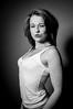 Sadie Ann _17.jpg (MesherPhotos) Tags: lonely studio backdrop modelling beauty mono model portfolio blackandwhite pose posing