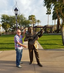December 01, 2016 (11) (gaymay) Tags: california desert gay love riversidecounty coachellavalley laloguerrerostatue fatherofchicanomusic cathedralcitytowncenter cathedralcity artclimbers