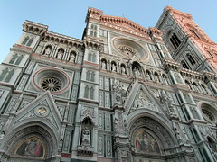 florence afternoon masterpiece (kexi) Tags: florence firenze florencja italy europe toscany tuscany architecture masterpiece afternoon old ancient church samsung wb690 october 2015 sky blue facade sculptures basilica cathedral hccity instantfave