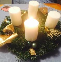 20161127_Adventkranz_003 (weisserstier) Tags: adventkranz advent tradition brauchtum brauch kerze weihnachtszeit