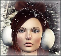 ╰☆╮Portrait enneigé╰☆╮ (MISS V♛ ANDORRA 2016 - MISSVLA♛ ARGENTINA 2017) Tags: winter portrait pileup dselles izzies catwa avatar secondlife sl event oleander thesugargarden mesh appliers model topmodel face fashion fashionista roxaanefyanucci flickr headmesh