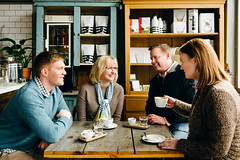Coffee Break (DEARTH !) Tags: fun denver group enjoyinglife forumrealestate coffeeshop colorado happy dearth people lifestyle coffee blackeyecoffee