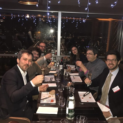 "EPIC Biophotonics Workshop ""Translating Biophotonics Technologies to Clinical Oncology dinner at eiffel tower(34)"