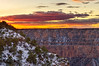 DSC_0048-50 yavapai point sunset hdr 850 (guine) Tags: grandcanyon grandcanyonnationalpark clouds canyon rocks snow sunset hdr qtpfsgui luminance