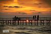 Sunrise (wagnerm25) Tags: sunset sunrise sun sea shore pelotas pier laranjal lake landscape lagoon light lagoa landmark lagoadospatos lago