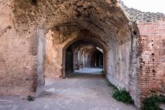 Passageways under the Tiers (silverfox_hwz) Tags: campania capua santamariacapuavetere amphitheatre anfiteatro ancientcapua gladiator gladiatormuseum