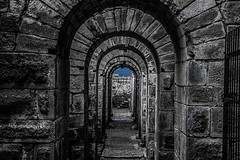 light at the end of the tunnel (mdoughty68) Tags: bergama pergamon turkey turkiye ancient historical ruins roman