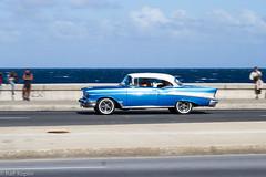 Malecón (ralfkoplin) Tags: 2016 car havanna kuba malecón oldtimer auto classic cars