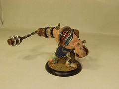 Cephalyx - Wrecker (Baefull.Wolf.Painting) Tags: monstrosity heavy warmachine mercenary warjack cephalyx