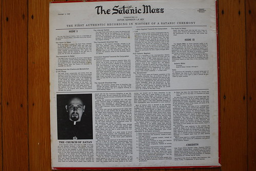 Satanic Mass LP Back (Mergenstrum 1968)