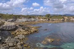 Llegando a Isla Pancha - Ribadeo (V.Maza) Tags: galicia lugo ribadeo playadelascatedrales islapancha paiadascatedrais