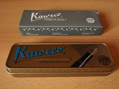 Kaweco Allrounder Red Fine Nib - Closed Box