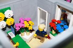 LEGO Flour Shop Modular House (MOC) (SunnyNightFever) Tags: house mod lego modular creator expert moc legohouse legocreator legomoc legomodular legoexpert legomod legohousemoc legomodularhouse legomodularmoc legomodularmod