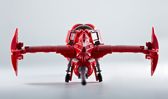 Cowboy Bebop Swordfish II (Marshal Banana) Tags: red anime cowboy lego space ii spike sciencefiction spaceship cowboybebop bebop spacecraft swordfish spacefighter swordfish2