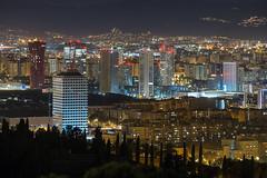 City (alimoche67) Tags: barcelona espaa noche sony 99 nocturna alpha catalua slt largaexposicion realia hotelportafira josejurado