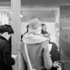 Urban Loneliness (munhitsu) Tags: uk london art painting europa europe unitedkingdom what nottinghill anglia privateview portobelloroad londyn urbanloneliness gosialapsamalawska malgorzatalapsamalawska themuseat269gallerystudio
