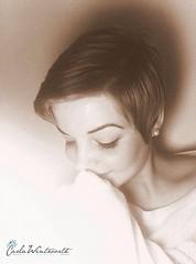 Self portrait (Carla Sanders Photography) Tags: portrait selfportrait me girl self edited