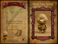 Nana Dae Djahé - Ginger Root Gnome (chartar_69) Tags: ccc charlesstephan tinyballjointeddoll charlescreaturecabinet issamoriko gingerrootgnome nanadaedjahé