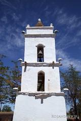 Campanario de San Lucas -Tocano Bell Tower (Rolandito.) Tags: chile tower church america de san desert bell south lucas pedro atacama di campanario tocano