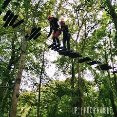 Up. | Hoch hinauf.  #Erlebnis #erlebnispädagogik #Teamwork #Wald #quetzdölsdorf #schlossquetz Adventure #travel #travelblog #travelingram #traveltheworld #worlderlust #hooray #hoorayfortoday #igfun #ignice #hochseilgarten #tightrope #up