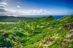 Diamond Head (Dave Fine) Tags: volcano hawaii oahu wide hike diamondhead honolulu ultrawide hdr uwa