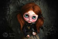 Bleuen (Rebeca Cano ~ Cookie dolls) Tags: art milk doll vampire blythe custon bleuen cookiedolls rebecacano