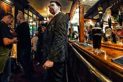a pint in the ship & shovel, london (fat-freddies-cat  four million views) Tags: london beer pub zombie fisheye timeforapint wzd2014
