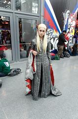 Female Thranduil Cosplay (Lord of the Rings) (vince.ng86) Tags: cosplay lotr comiccon nycc thranduil nycc2014