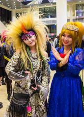 hide cosplay (mevrain) Tags: music newyork rock cosplay hide madisonsquaregarden visualkei xjapan wearex xjapanmsg