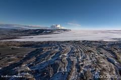Volcano behind the Glacier