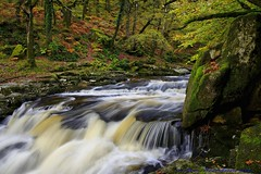 Misty Waterfalls. (spw6156 - Over 5,666,110 Views) Tags: autumn copyright misty steve © waterfalls hdr waterhouse