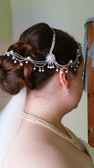 "Dawn Bridal Hair • <a style=""font-size:0.8em;"" href=""http://www.flickr.com/photos/36560483@N04/15395976959/"" target=""_blank"">View on Flickr</a>"