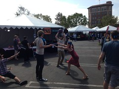 Stepball at Indiecade 2014
