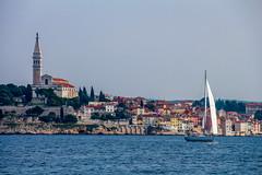 IMG_9082 (Gyorgy Petrilla) Tags: sunset sea summer sky italy water sailing croatia slovenia adria