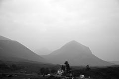 the vast silence (Satirenoir) Tags: mountains scotland driving isleofskye overcast september sligachan