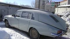 Tatra 77 meets Volga Gaz-24 (Skitmeister) Tags: gaz tatra газ skitmeister
