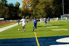 K_IM4416 (westminster.college) Tags: playing men net sports ball goal team athletics kick soccer mens jersey score titans 2014 menssoccer 2014menssoccer