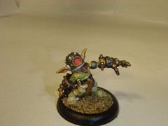 Gobber Drudges (Baefull.Wolf.Painting) Tags: lock load exclusive con warmachine mercenary cephalyx