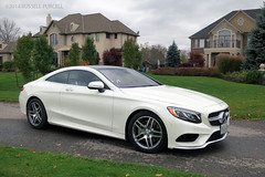 2015 Mercedes-Benz S-Class Coupe (Auto Exposure Canada) Tags: white cars germany niagara falls german mercedesbenz luxury sclass coty ajactestfest russellpurcell
