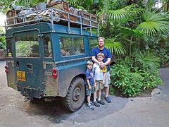 The Rovers (babyfella2007) Tags: africa old boy vacation white jason black classic sc nature car animal bike carson wagon outside orlando pretty child florida decay grant south father young kingdom son rover disney safari taylor land carolina beaufort defender 2014 batesbrug
