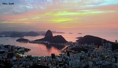 Cores do Amanhecer - Rio de Janeiro (mariohowat) Tags: rio riodejaneiro sunrise natureza alvorada longaexposição nascerdosol enseadadebotafogo mirantedonamarta mirantesdoriodejaneiro mirantesriodejaneiro