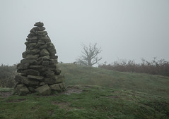 Cairn at Gair Ridge (Tony Dandridge) Tags: