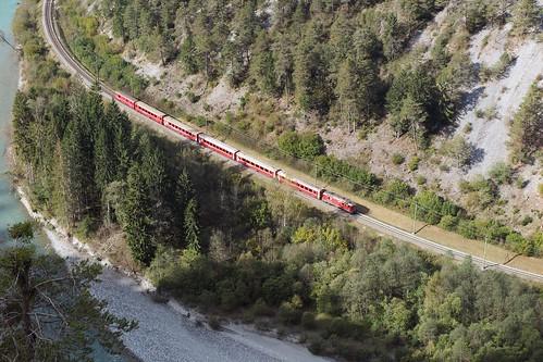 Ruinaulta - Rhaetian Railway