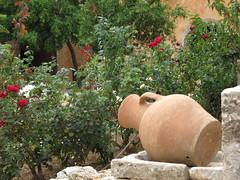 Krug (germancute) Tags: holiday flower church landscape urlaub kreta vine monastery crete landschaft kloster arkadi germancute